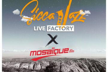 Ramzi Jebabli sur la 6éme Edition de Sicca Jazz avec Mosaique FM